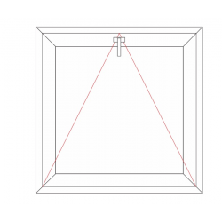 Fenêtre à soufflet (Ouvrant 68mm)